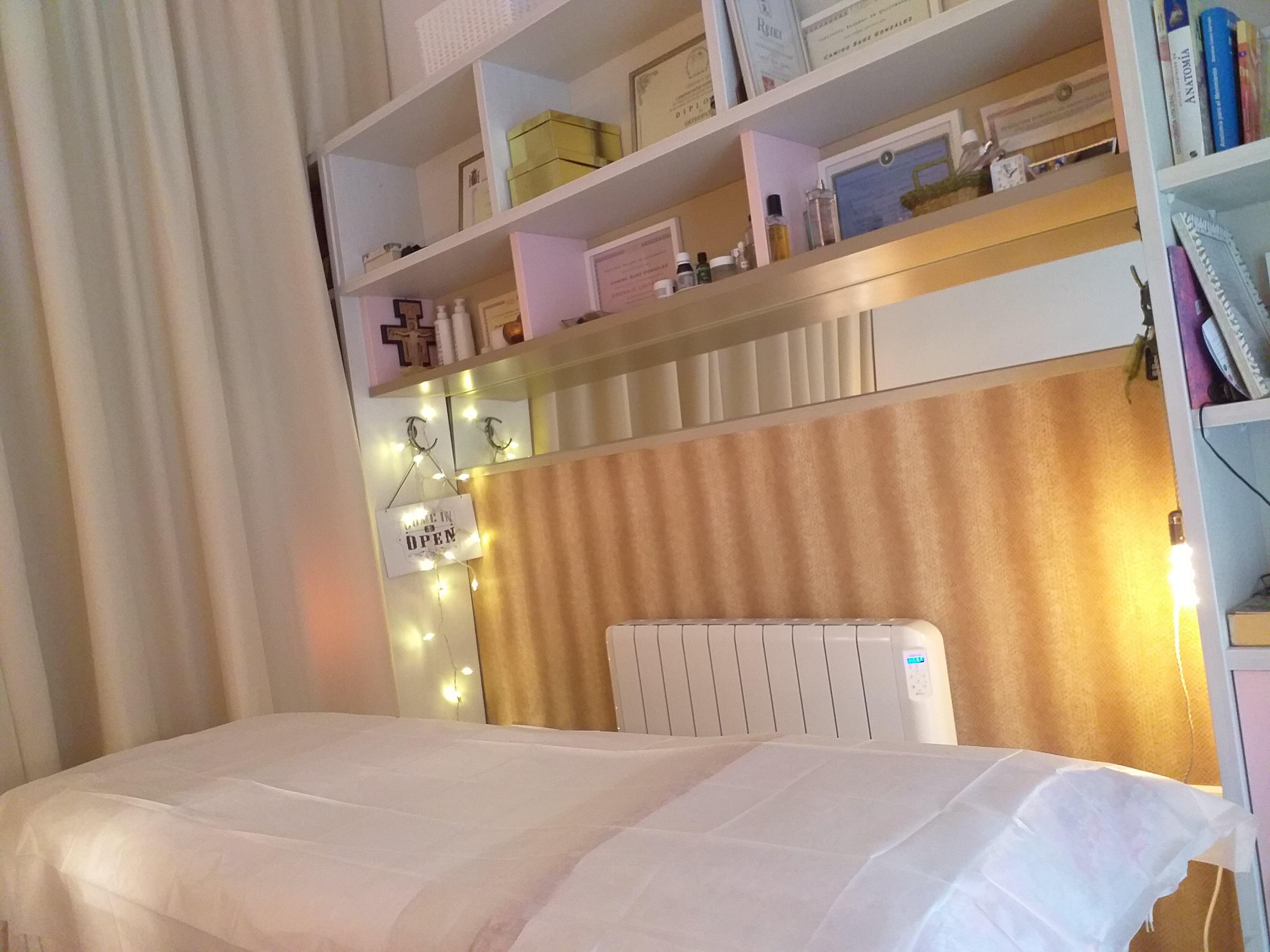 Sala de masajes con calefacción